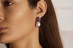 パールとカラージェムが輝く、ポアレの新作。 Earrings, Jewelry, Fashion, Ear Rings, Moda, Stud Earrings, Jewels, Fashion Styles, Schmuck
