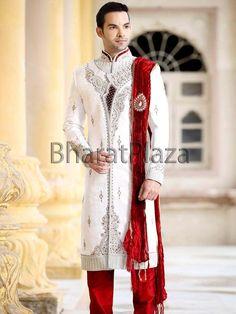 Rich Work Jamawar Sherwani