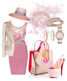 """""""Motion"""" by miktemal ❤ liked on Polyvore featuring moda, Christian Louboutin, Just Cavalli, Rosantica, Lola Rose, Marc by Marc Jacobs, Oasis, Eshvi, women's clothing y women"""