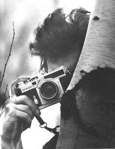 Photograph by Daniel Kramer, probably late fall (November?) 1964.  Nikon SP Rangefinder  Woodstock, New York