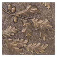 The Whitehall Products Oak Leaf Aluminum Wall Decor is an ideal accent for a wall in your home or cabin. Its recycled aluminum body is hand crafted and resists rust to provide long-lasting beauty. Oak leaf design adds a decorative touch to your wall. Copper Wall Decor, Contemporary Metal Wall Art, Acorn And Oak, Weathered Paint, Whitehall Products, Outdoor Wall Art, Indoor Outdoor, Metal Embossing, Cool Walls