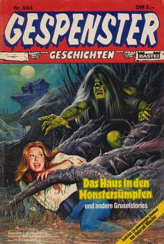 Cover for Gespenster Geschichten (Bastei Verlag, 1974 series) #584
