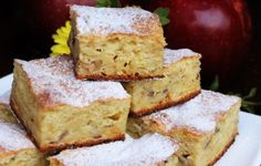 prajitura cu iaurt si mere Easy Cake Recipes, Sweets Recipes, Cooking Recipes, Sweet Pie, Sweet Tarts, Romanian Food, No Cook Desserts, Vegan Cake, Diy Food