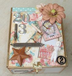 Crazy Cat Lady Cards and Crafts: Altered Cigar Box: Treasure Box