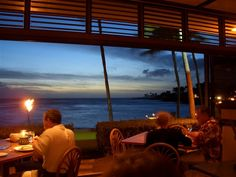 Beach House-Poipu, Kauai.  One of the best meals I've ever had and in the most romantic spot.  Completely open to the beach.