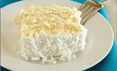 weight watchers Coconut Cake Recipe | Weight Watchers Recipes