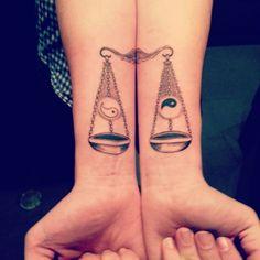 Resultado de imagen para libra tatuaje