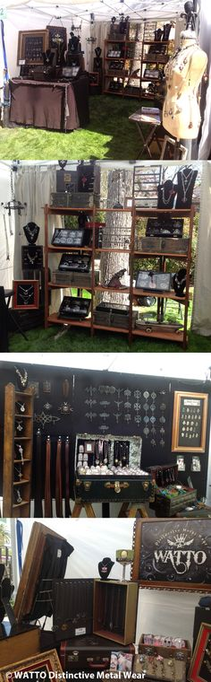 WATTO Distinctive Metal Wear booth setup #vendor displays #craft booth # art booth  http://www.facebook.com/wattoonline#!/wattoonline/photos_stream