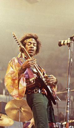 Jimi Hendrix by Davi