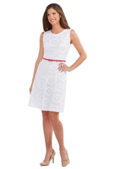 b6a0f4aba5a Cato Fashions Belted Daisy Lace Dress  CatoFashions  CatoSummerStyle Fashion  Belts