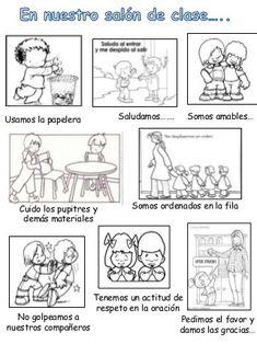 Dibujos Para Colorear Del Respeto Imagui Dibujos De Los