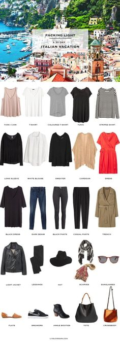 livelovesara - My life in a blog by Sara Watson. Packing list: Italy in Fall
