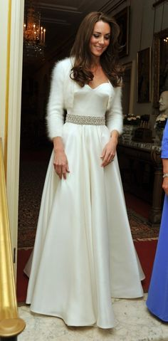 Kate Middleton in her weeding day