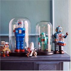 Robots under glass? I am down with that.