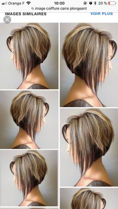 80 Bob Hairstyles To Give You All The Short Hair Inspiration - Hairstyles Trends Bob Haircut For Fine Hair, Bob Hairstyles For Fine Hair, Pixie Hairstyles, Medium Hair Styles, Short Hair Styles, Angled Bob Haircuts, Inverted Bob Hairstyles, Wedge Bob Haircuts, Short Hair Cuts