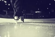 going ice skating right now :))