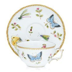 Anna Weatherly - Spring in Budapest Teacup & Saucer