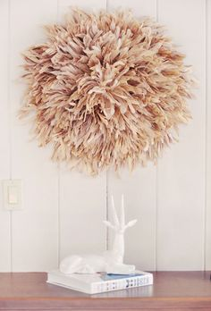DIY - Feather Wall Art - African Juju Hat Tutorial | ...love Maegan
