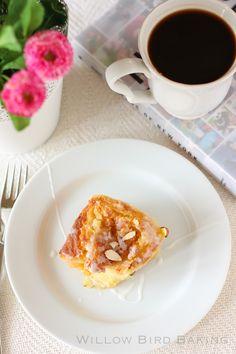 Buttery Almond Stuffed Morning Buns