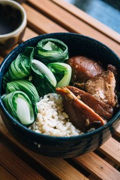 by Courtney from Fork to Belly Hello! Courtney from Fork to Belly here, sharing with you one of my favorite recipes from my hometown of Honolulu, Hawaii: Shoyu Chicken and Bok Choy! I love this dish to bits. It's simple and prep is quick and easy. It all comes together in a slow cooker, which …