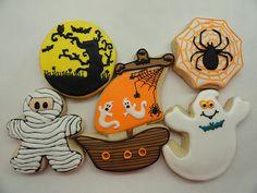 basic halloween shapes