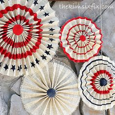 """""""I loved some folded burlap stars I saw on the Pottery Barn website. But at $30/each I knew I had to make my own version"""" See full project details!"""