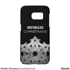 Shop Metallic Christmas Case-Mate Samsung Galaxy Case created by Joyfulgiftstudio. Samsung Cases, Iphone Cases, Galaxy S7, Samsung Galaxy, S7 Case, Design Case, Gifts For Family, Holiday, Christmas