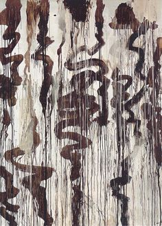 Cy Twombly - Untitled No. 9, (Winter Pictures) 2004.