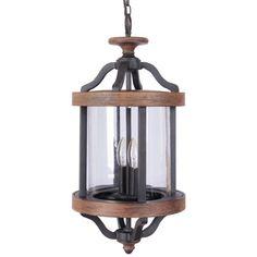 Sonoma Outdoor Hanging Lantern textured_black