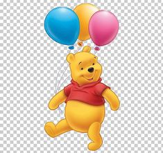Winnie-the-Pooh Piglet Tigger Eeyore Winnipeg PNG - balloon, balloon clipart, carnivoran, cartoon, computer wallpaper Winnie The Pooh Pictures, Cute Winnie The Pooh, Winne The Pooh, Winnie The Pooh Birthday, Winnie The Pooh Friends, Cute Disney Wallpaper, Cartoon Wallpaper, Computer Wallpaper, Balloon Clipart