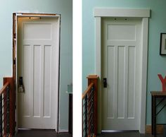 Mission Style Closet Doors | ... door casing is this style. Interior doors will be similar to these as