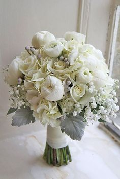 How about grey and silver colors? They will look gorgeous with white snow for sure. We've prepared trending grey wedding bouquets for you. Wedding Flower Packages, White Wedding Bouquets, Floral Wedding, Fall Wedding, Wedding Ideas, Wedding Dresses, Boho Flowers, Winter Flowers, Prom Bouquet