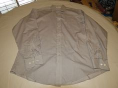 Faconnable Designed in France Mens 4 16 XL long sleeve striped button shirt EUC@ #Faonnable #ButtonFront