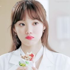 이성경-진서우 Female Actresses, Korean Actresses, Asian Actors, Korean Actors, Lee Sung Kyung Doctors, Kim Book, Romantic Doctor, Artist Aesthetic, Weightlifting Fairy Kim Bok Joo