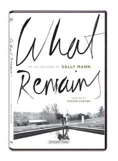 """DVD of What Remains: The Life and Work of Sally Mann: As one of the world's preeminent photographers, Sally Mann creates artwork that challenges viewers' values and moral attitudes. Described by Time magazine as """"America's greatest photographer,"""" she first came to international prominence in 1992 with Immediate Family, a series of complex and enigmatic pictures of her three children. What Remains-recent series on the myriad aspects of death and decay--is the subject of this  documentary."""