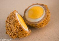 Verstopt ei uit de Airfryer