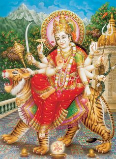 All about Maa Durga: http://www.durgasite.com