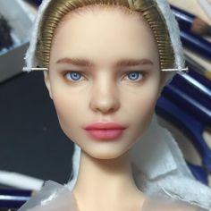 "2,663 Likes, 58 Comments - Olga Kamenetskaya (@oli.krolik) on Instagram: ""Чуток процесса в ленту. Правда это уже не начало, а финишная прямая, но все же#doll…"""