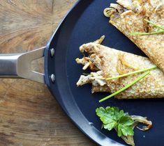 Een Valira Pannenkoekenpan koop je snel en voordelig bij Cookinglife! Omelet, Ethnic Recipes, Food, Chicken Crepes, Onion, Omelette, Essen, Meals, Frittata