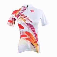 Paladin Cycling Jersey for Women Short Sleeve Buck Teeth Rabbit Pattern  Bike Shirt b26aaed1e