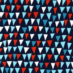 sail ヨット ネイビーファブリック生地 ミッドセンチュリー コットン100%シーチング - マイケルミラー 生地 ファブリック | キルト生地のマイケルミラー.jp
