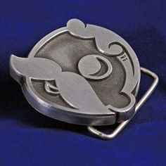 Natty Boh pewter belt buckle from Charm City Clothing...