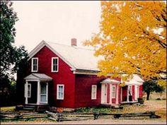 Almanzo Wilder Farm in Malone, NY Boyhood home of Almanzo Wilder from the book Farmer Boy by Laura Ingalls Wilder