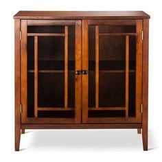 Luther Storage Cabinet Brown - Threshold™ : Target