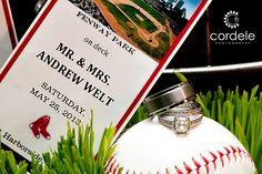 #redsoxwedding #bostonredsoxwedding #baseballwedding #weddingrings  boston red Sox wedding, baseball wedding theme