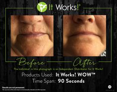 Wipe out wrinkles #livecleanwithgreens www.Emeraldgreen.myitworks.com