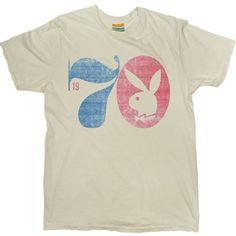 65982510db37 Men's 1970 Playboy Vintage Playboy Tees Vintage Mens T Shirts, Vintage Tees,  Vintage Graphic