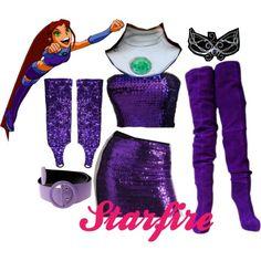 starfire costumes - Google Search