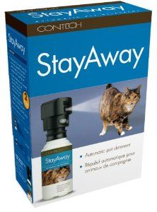 Cat Gifts:Contech StayAway Motion-Activated Pet Deterrent