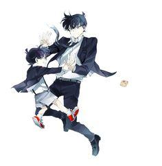 Render 694 - 20.9.2015 -  Conan And Shinichi by MizuMiKID